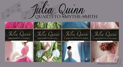 Resultado de imagem para julia quinn o quarteto