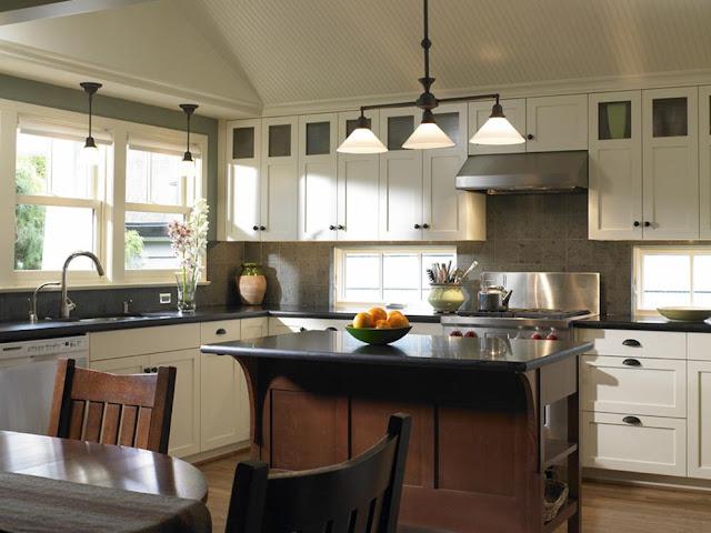 delorme designs white craftsman style kitchens. Black Bedroom Furniture Sets. Home Design Ideas