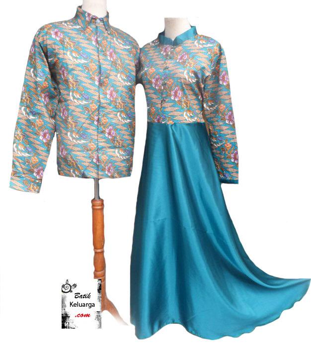 50 Gambar Model Baju Batik Gamis Kombinasi Terbaru Explore It