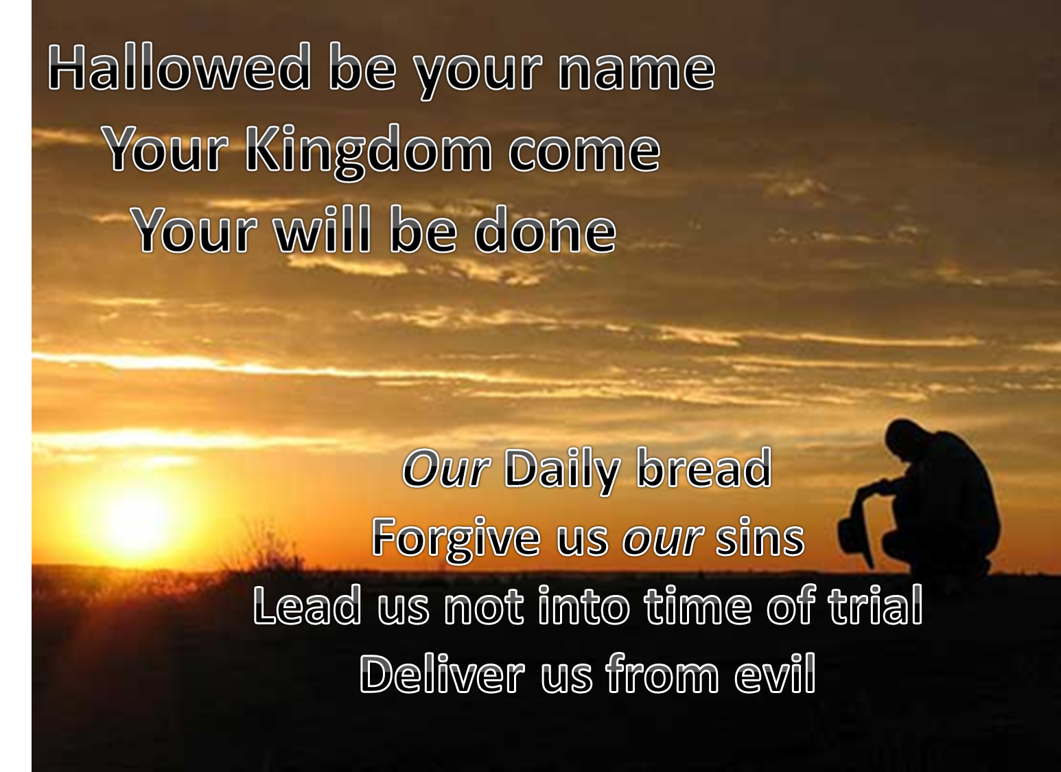 HOW IN THE WORLD!!: Give Us Today Our Daily Bread