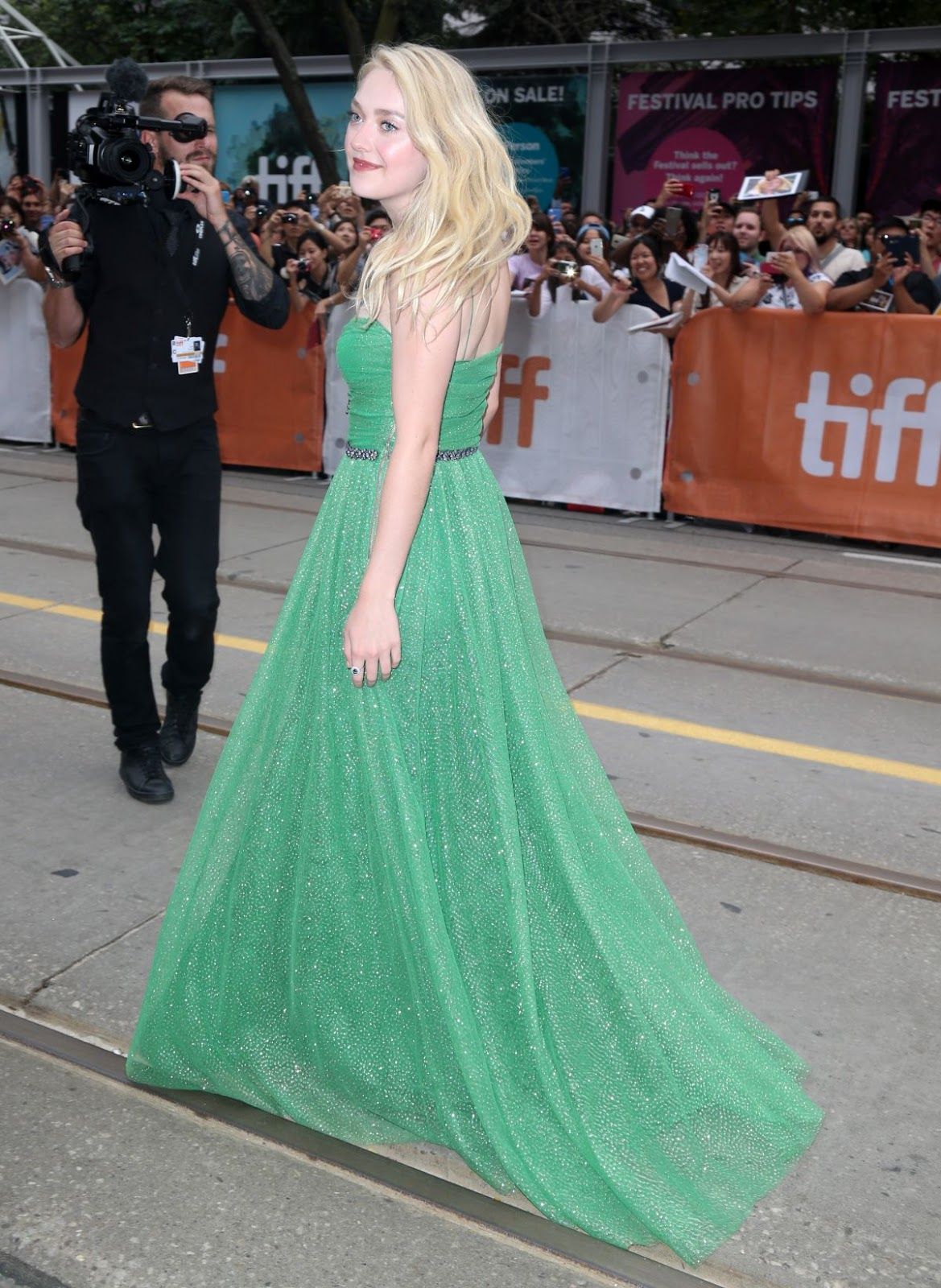 Dakota Fanning At American Pastoral Premiere At 2016 Tiff In Toronto