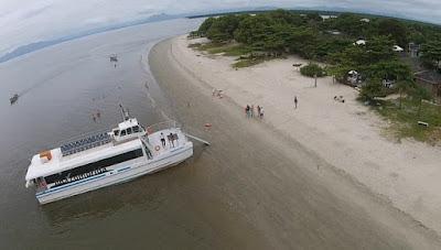 Catamarã fará viagem ao Marujá nos dias 14 e 21 de julho