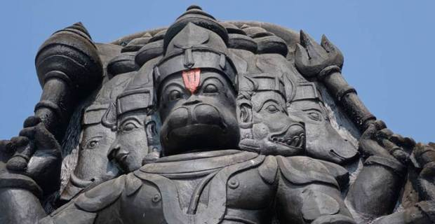 The Five-faced Hanuman Temple Rameswaram