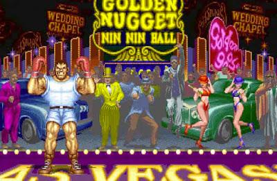 Balrog nel suo stage di ''Street Fighter II''