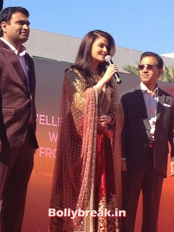 , Aishwarya Rai at Dubai Kalyan Jewellers event