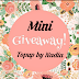 Mini Giveaway By Nadia