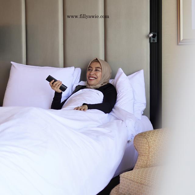 kamar hotel di jw marriot surabaya