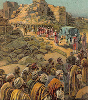 The Capture of Jericho (Bible Card)