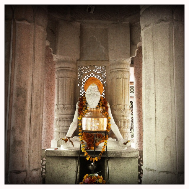 Santosh Puri Ashram Babaji Statue