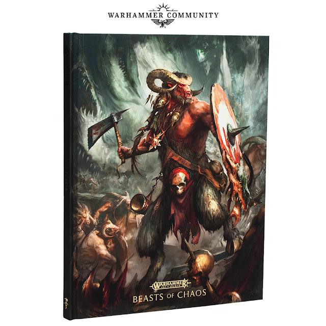 Battletome Bestias del Caos edición coleccionista