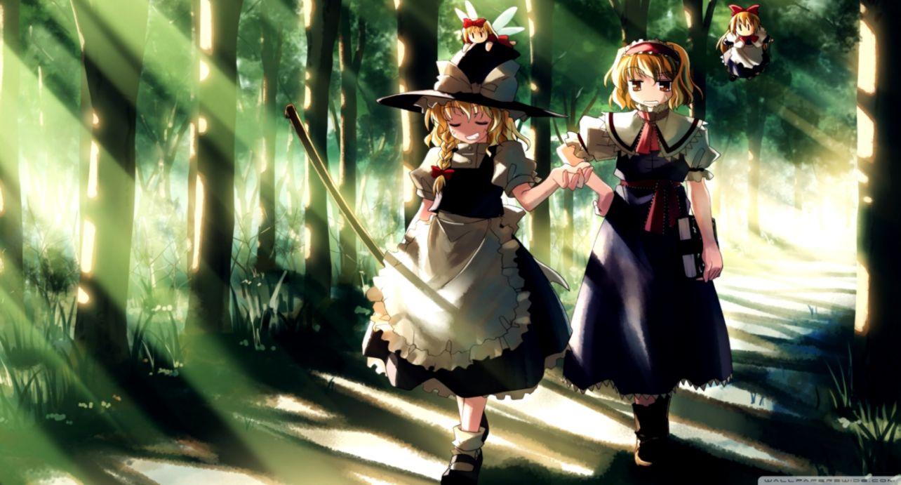 Anime wizard girl ❤ 4k hd desktop wallpaper for 4k ultra hd tv