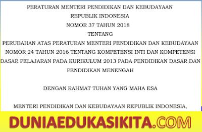 KI KD K13 REVISI 2018 SD-MI , SMP-MTs, SMA-SMK-MA