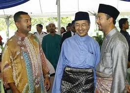 Image result for images of mahathir, mokhzani and daim
