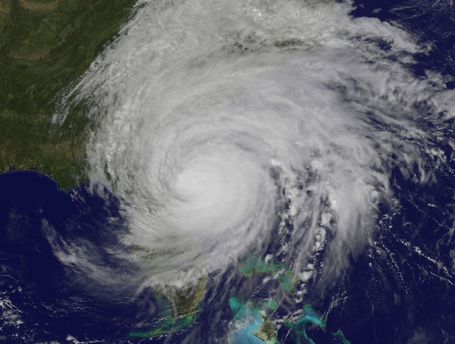 Hurricane Matthew Over Florida