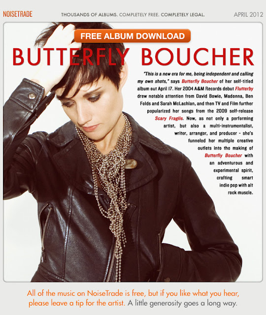 Featured Free Album: Butterfly Boucher