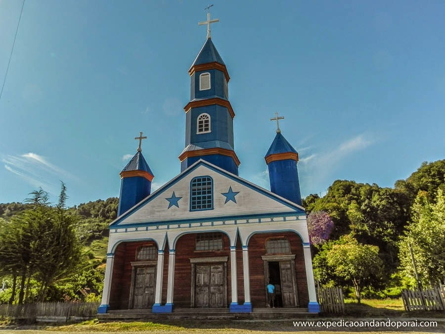Igreja Nuestra Señora del Patrocinio, Tenaun, Ilha de Chiloé