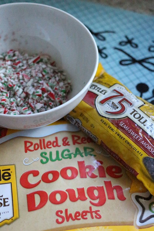 Sugar Cookie Peppermint Sticks