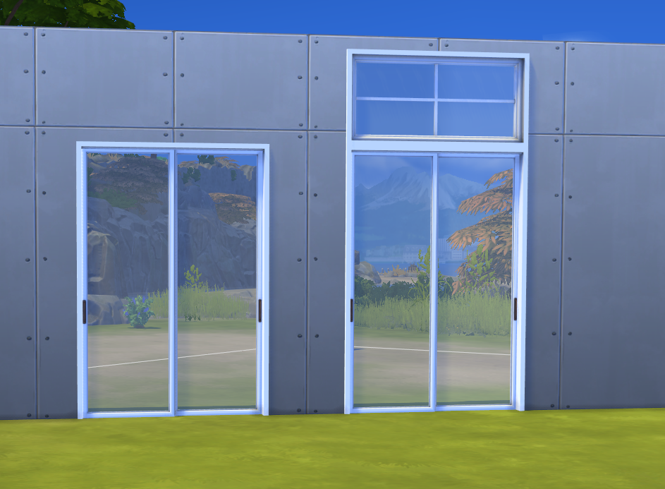 My Sims 4 Blog Sunset Sliding Doors By Minc78