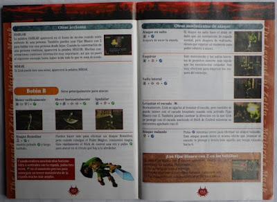 The Legend of Zelda - Majora's Mask - Manual interior