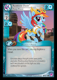 My Little Pony Rainbow Dash, Pony Pirate Seaquestria and Beyond CCG Card