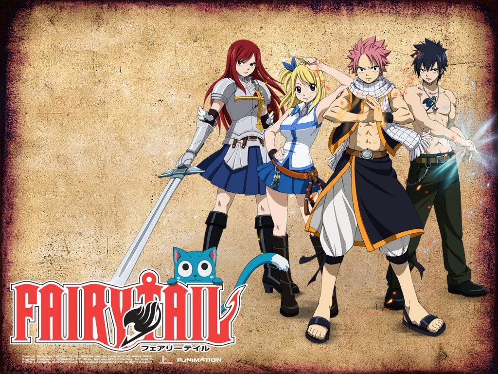 Fairy Tail Wallpapers - Cartoon Wallpapers