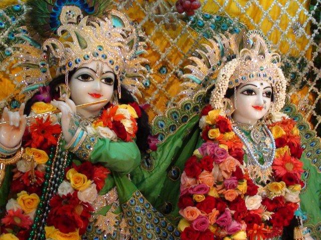 Krsna: Sri Krishna Janmashtami Celebrations At Vrindavan