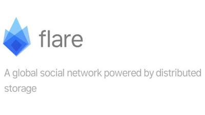 FLARE ICO INDONESIA, Jaringan global dengan penyimpanan yang terdesentralisasi