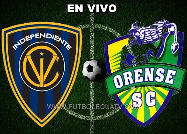Independiente del Valle y Orense SC se miden en vivo desde las 17:15 horario de nuestro país a jugarse en el campo Rumiñahui continuando los 16avos de la Copa Ecuador, siendo el árbitro principal del encuentro a mencionar luego con transmisión autorizada de El Canal del Fútbol.