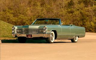 1966 Cadillac Eldorado Cabriolet Green Front Left