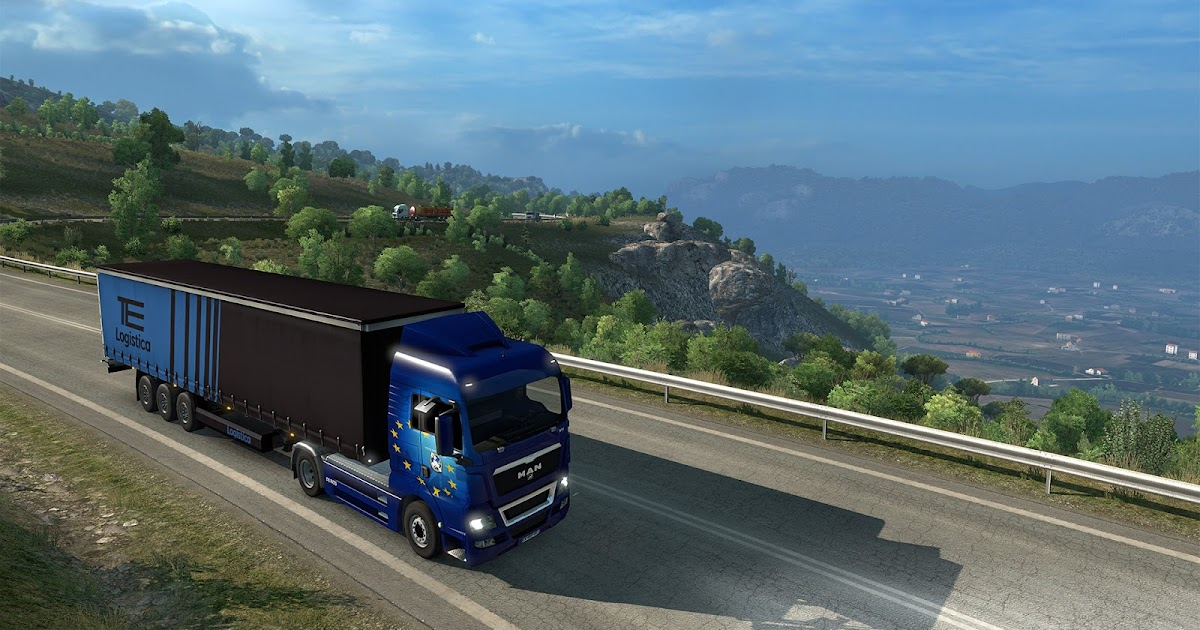 euro truck simulator 2 expansion released gaming news 24h. Black Bedroom Furniture Sets. Home Design Ideas