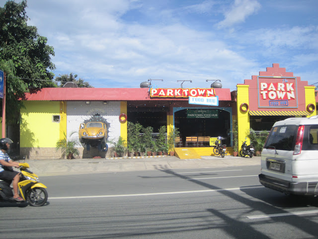 PARK TOWN Pinto Art Museumの目印