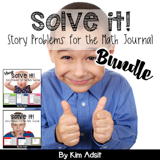 https://www.teacherspayteachers.com/Product/Math-Journal-Story-Problems-Solve-It-Bundle-638907