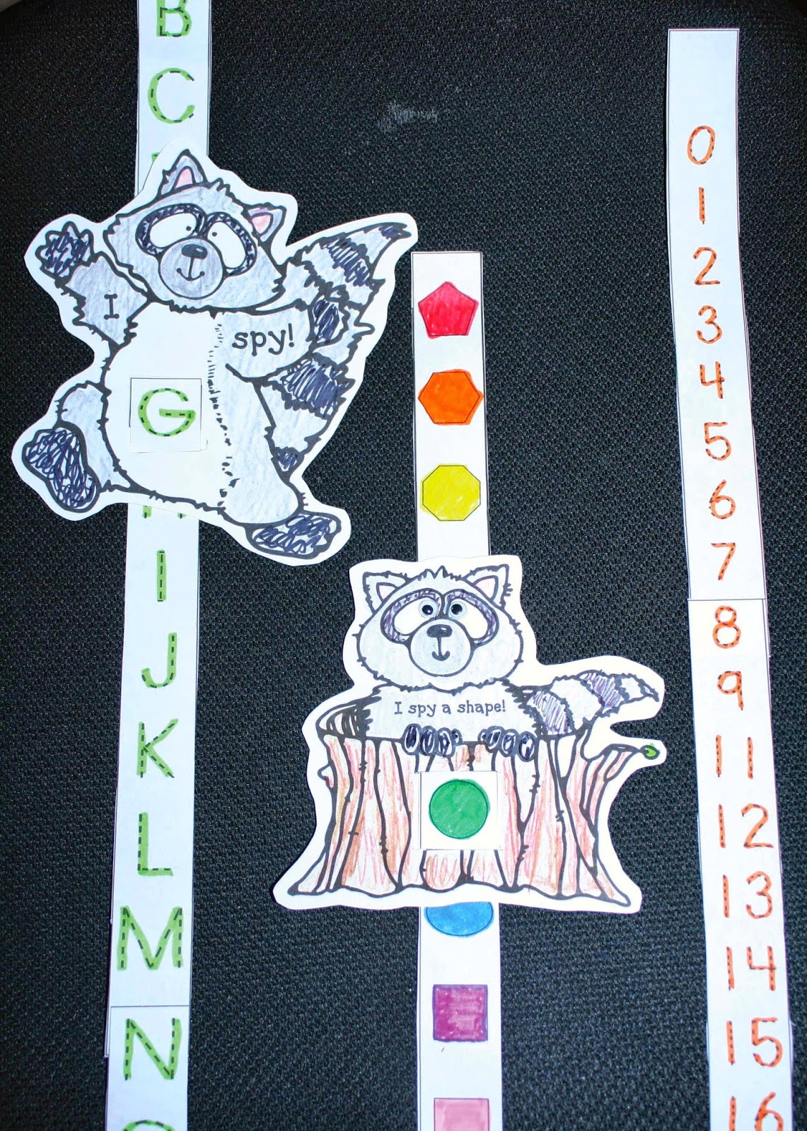 Classroom Freebies The Kissing Hand Number Shape And Letter Sliders