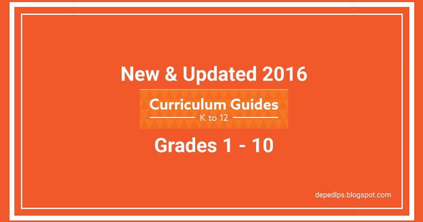 curriculum guide in science 2016 pdf