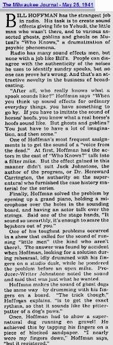 Golden Age of Radio: Dr  Hereward Carrington