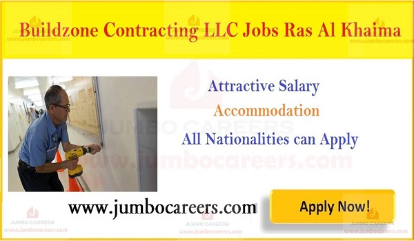 Construction,contracting Jobs in Ras al-Khaimah, Maintenance jobs with accommodation in RAK,