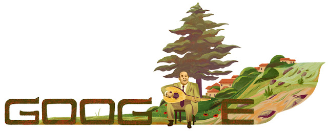 Wadih El Safi's 95th Birthday: Google Doodle