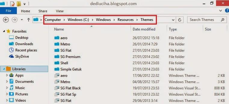 Merubah Total Tampilan Windows 8