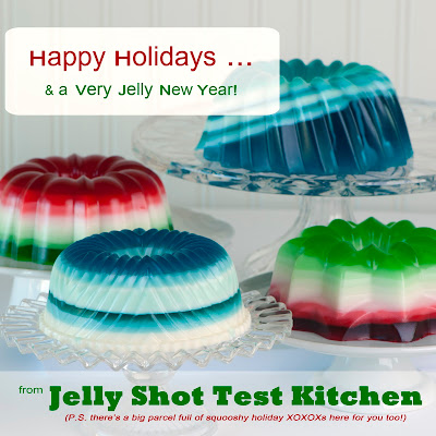 Jelly Shot Test Kitchen Margarita