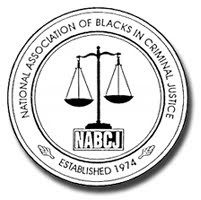 The logo for the National Association of Blacks in Criminal Justice.