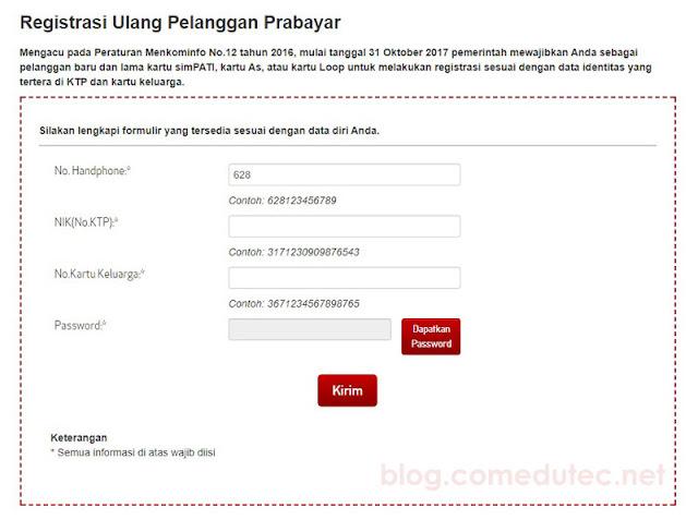 Registrasi Ulang Pelanggan Prabayar Telkomsel Tanpa Ribet