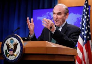 El enviado especial de EE.UU. para Venezuela, Elliott Abrams, dijo ayer que su Gobierno está presionando a China y a empresas petroleras de todo el mundo para que corten lazos económicos con el presidente venezolano, Nicolás Maduro.