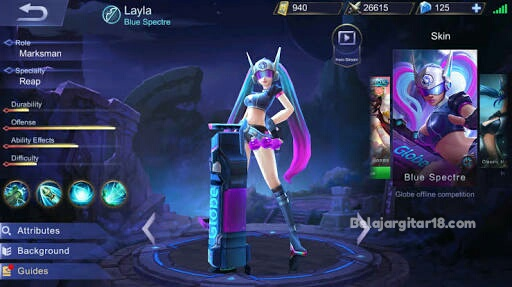 Hero Lyla Mobile legends