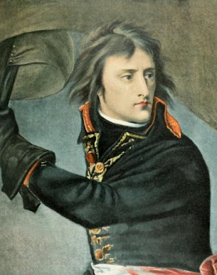 Napoleon at Arcole from Life of Napoleon   Bonaparte by WM Sloane (1896)