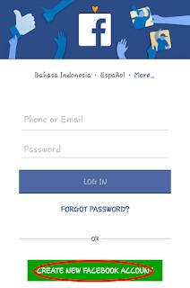 cara buat facebook dengan nomor hp, daftar facebook dengan nomor hp  buat facebook baru dengan nomor hp