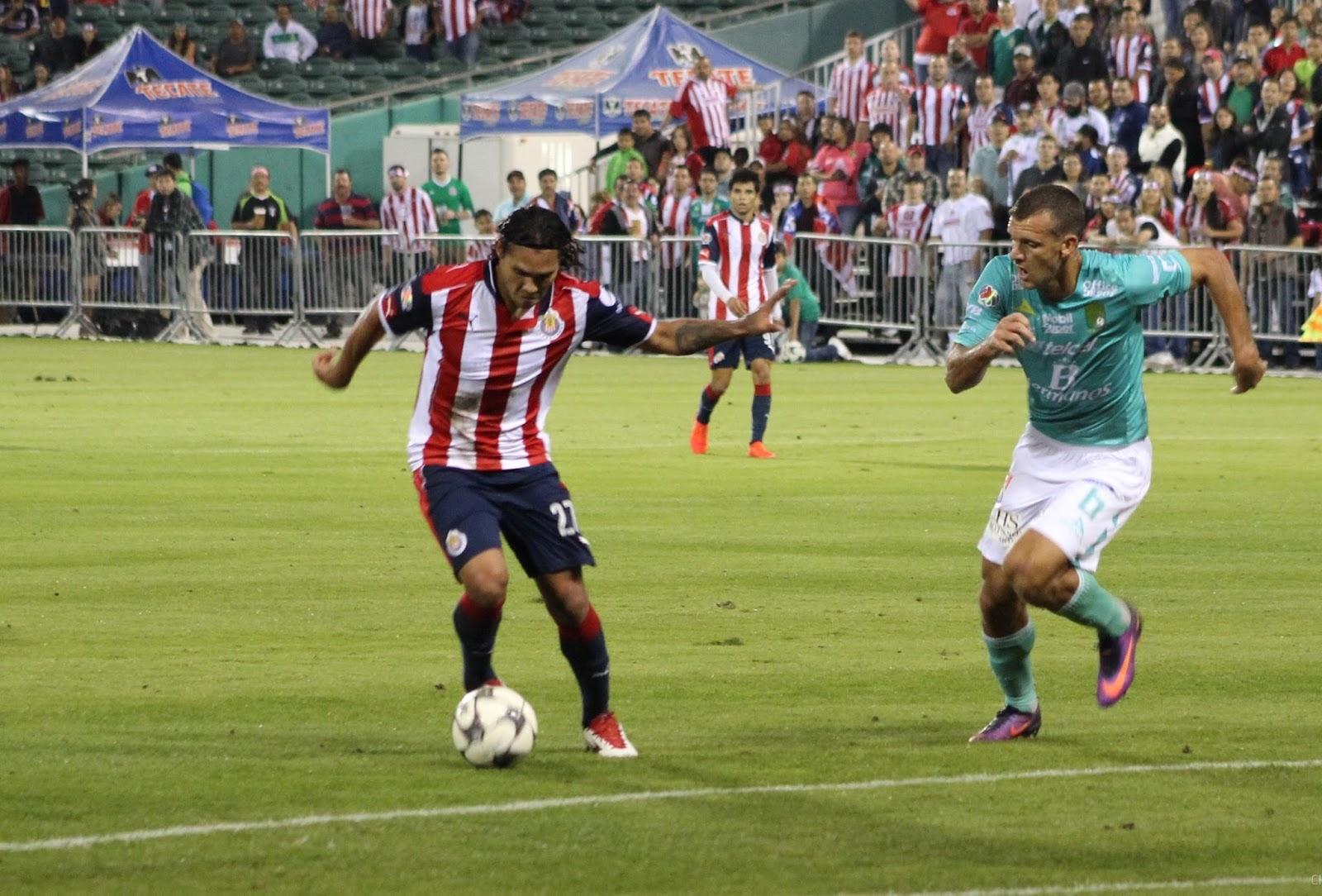 Guadalajara tuvo actividad en duelo amistoso frente al León.