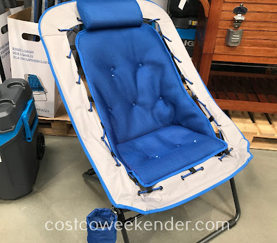 Sit around and hang out while on the Z Company Bungee Lounger