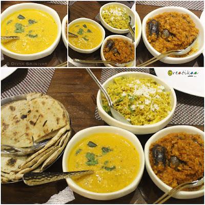 Meena Tai - Restaurant - Chennai - Maharastrian - dal, brinjal, roti