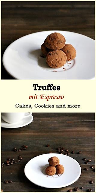Rezept für Espresso Truffes
