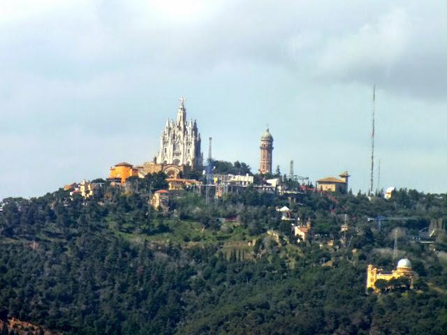 el monte Tibidabo de Barcelona